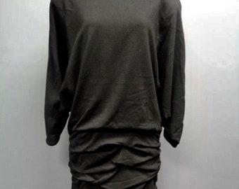 b54d597a1d Vintage 80 s Black Dominic Rompollo Dress for Jena Roberta