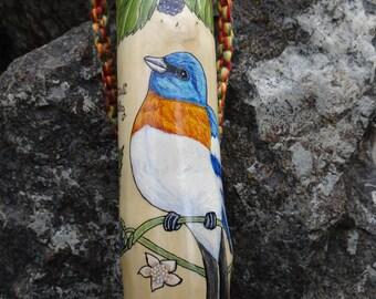 Birds~Blooms~ and Butterflies Walking Stick