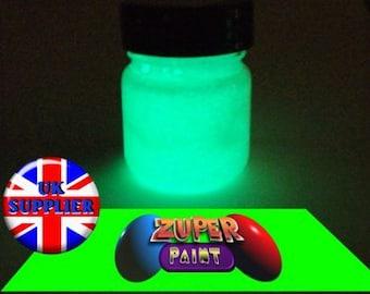 PREMIUM Zuperpaint Aqua Glow In The Dark Paint 30ml