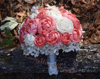 Wedding Bouquet Sola Bouquet Coral Bouquet Coral Gray Bouquet Ivory Bouquet Sola Bouquet Peony Bouquet Coral Gray Bouquet Sola Bouquet