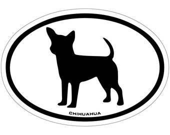 Chihuahuas Vinyl Decal Sticker