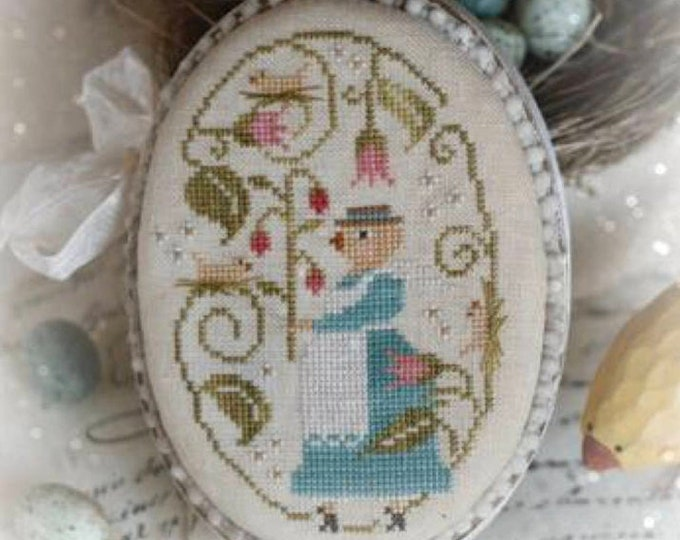 Pattern: Here a Peep There a Peep cross stitch - With Thy Needle and Thread - Brenda Gervais