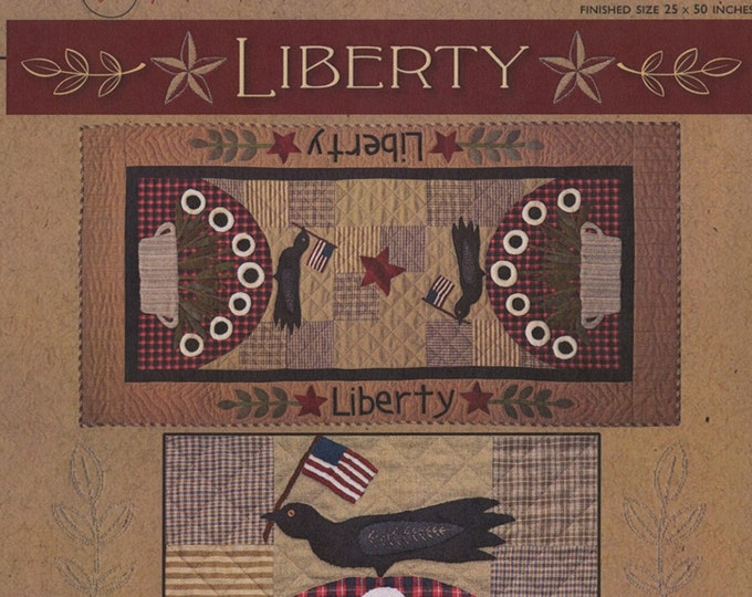 Pattern: Liberty Applique Table Runner Pattern by Timeless Traditions by Norma Whaley