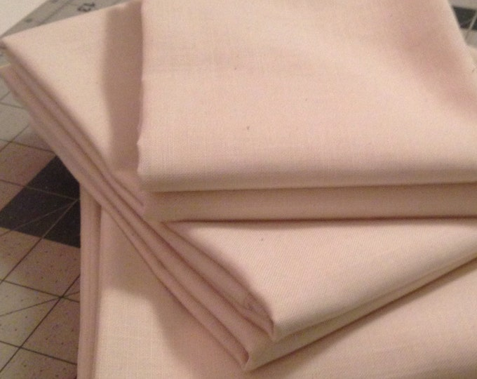 "Fabric: Weavers Cloth Last piece End Cut off bolt  8""x 44""- Natural"