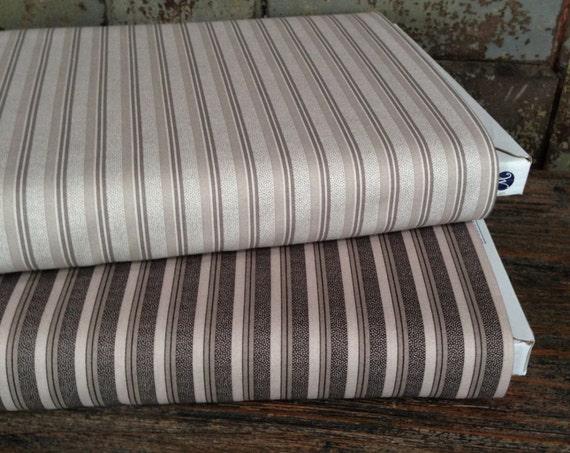 Fabric: HALF YARD - Shades of Grey - Stripe - 41294 - by Nancy Gere for Windham Fabrics