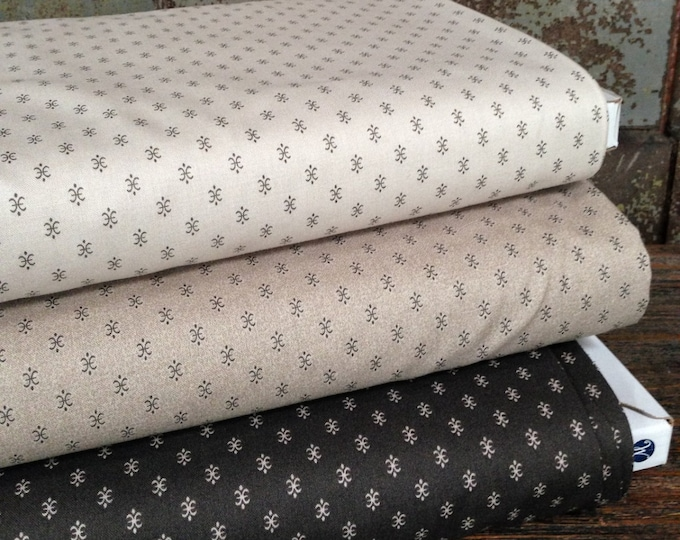 Fabric: HALF YARD - Shades of Grey - Filigree - 41293 - by Nancy Gere for Windham Fabrics