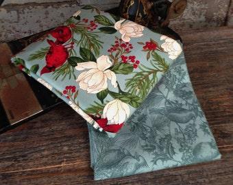 Fabric: HALF YARD - Winter Elegance - Cardinals - Sentimental Studios - Moda Fabrics