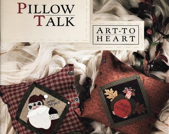 """Pattern Book: """"Pillow Talk"""" by Nancy Halvorsen of Art to Heart"""