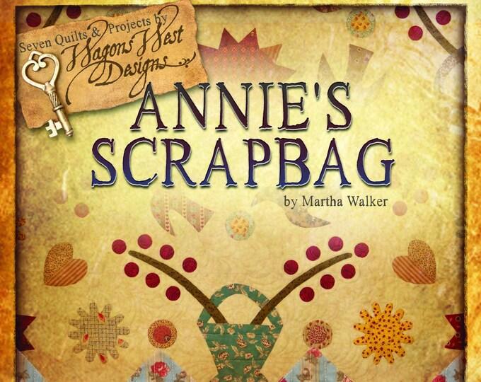 "Pattern Book: ""Annie's Scrapbag"" - Scrapbag Girls Series, by Martha Walker for Wagons West Designs"
