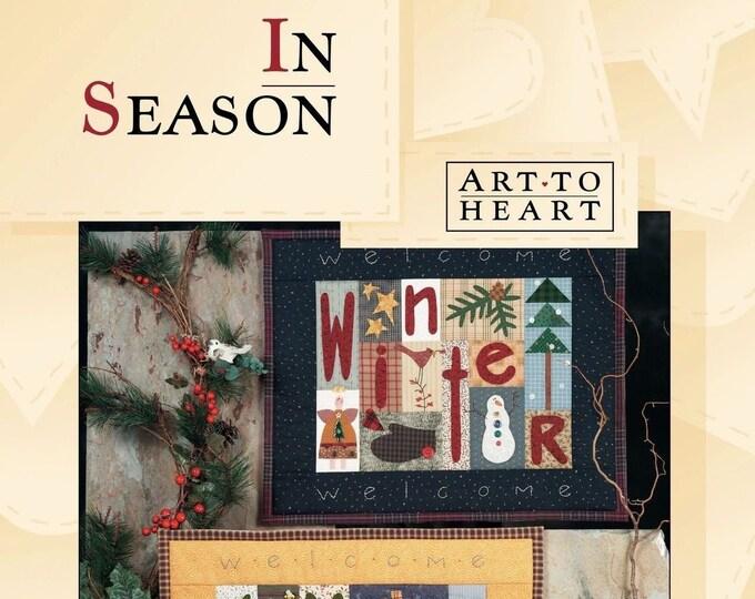 """Pattern Book: """"In Season"""", by Nancy Halvorsen of Art to Heart"""