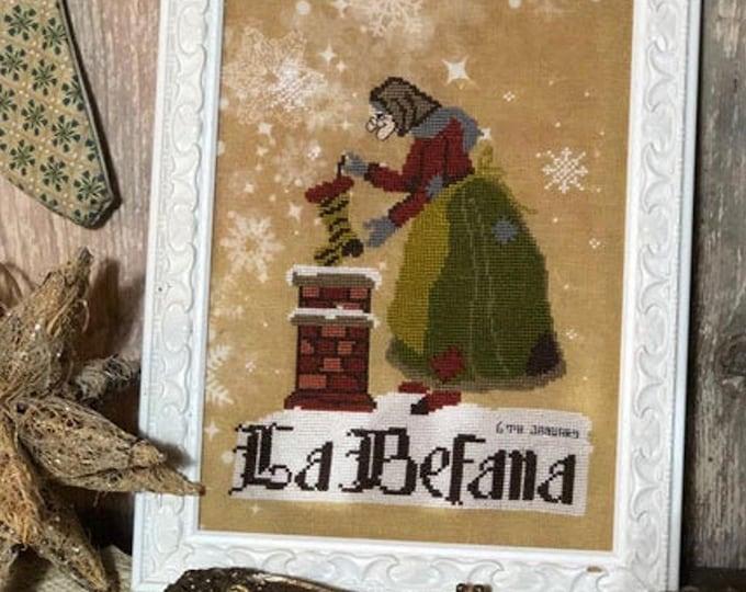 Pattern: La Befana - Cross Stitch - by The Primitive Hare
