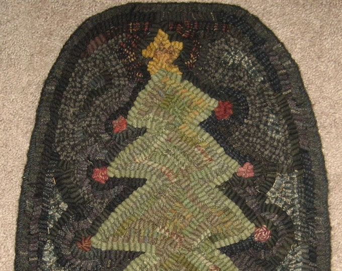 "Pattern: Primitive Rug Hooking Pattern - ""Believe"""