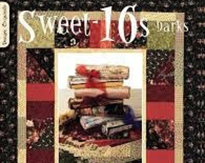 "Pattern Book: ""Sweet-16s Darks"", by Suzanne McNeill"