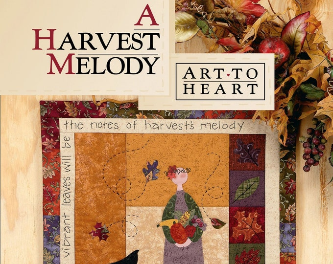 "Pattern Book: ""A Harvest Melody"", by Nancy Halvorsen of Art to Heart"