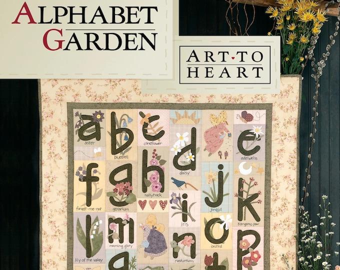 """Pattern Book: """"Alphabet Garden"""" by Nancy Halvorsen of Art to Heart"""