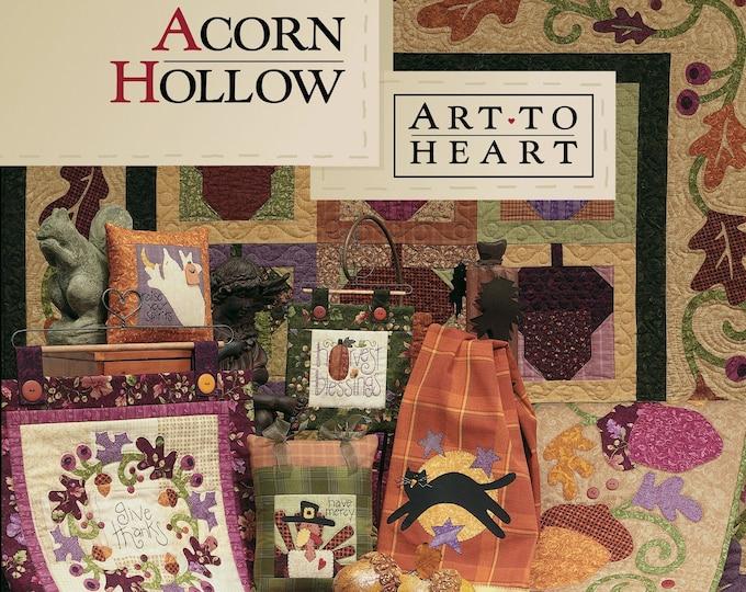 """Pattern Book: """"Acorn Hollow"""", by Nancy Halvorsen of Art to Heart"""