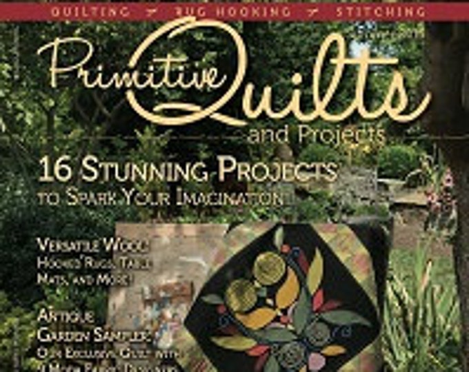 Magazine: Summer 2015 Primitive Quilts and Projects