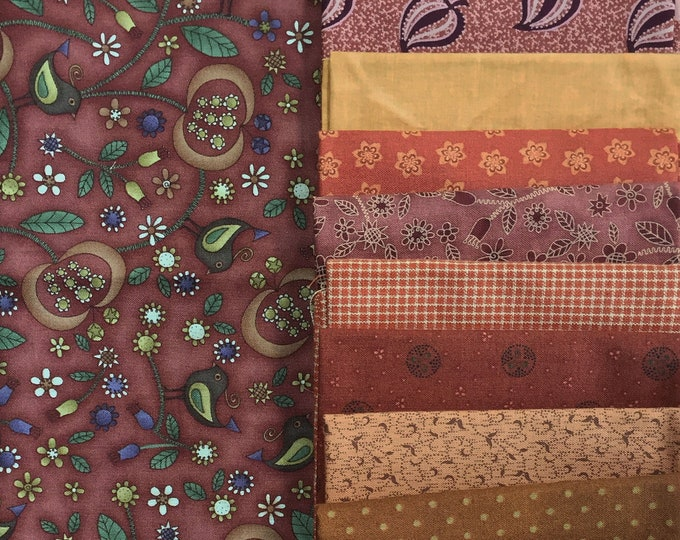Fabric: FQ 16 pc Bundle - Fat Quarter Cotton & Homespun