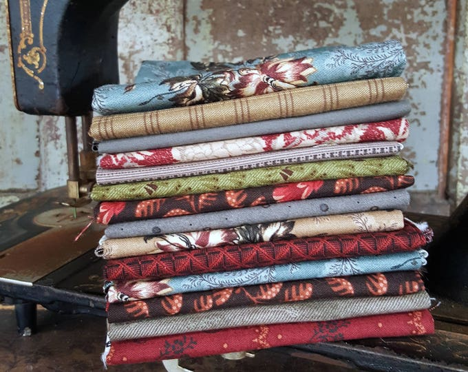 Fabric: Bundle FQ 14pc - Civil War
