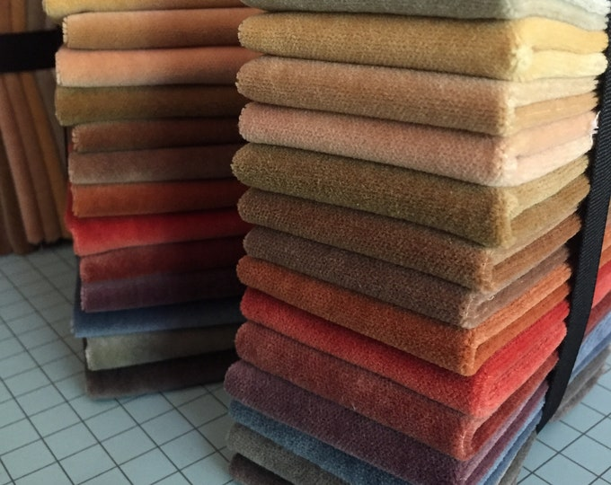 "Bundle Velvet: Hand Dyed 7"" x 9"" - 15 Piece Collection"