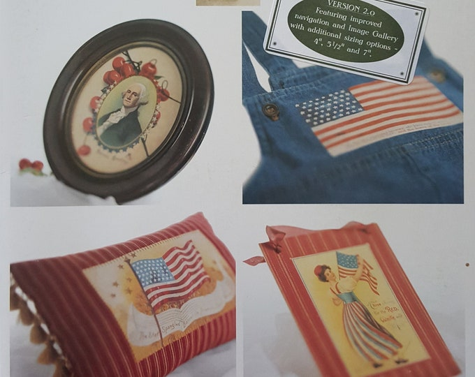 "CD: Click ~n~ Craft ""Celebrate America"" from the Vintage Workshop (lightly used)"