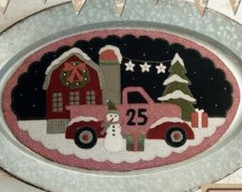 "Pattern: December Vintage Truck Thru the Year - ""Christmas"" by Buttermilk Basin"