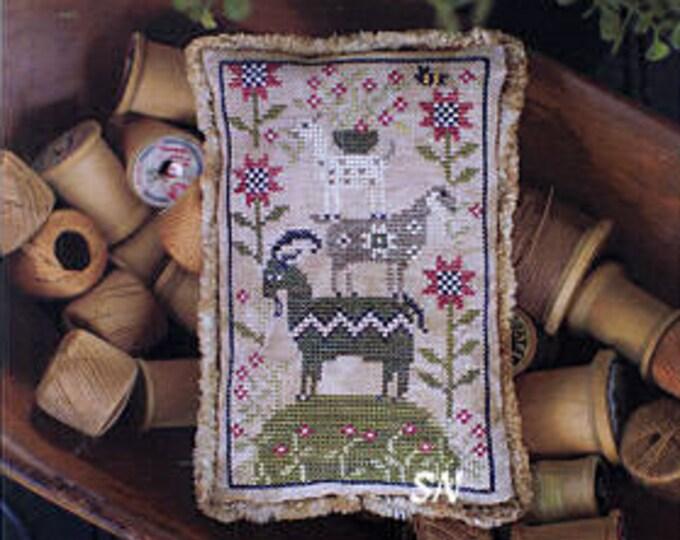 Pattern: Goat Load - Cross Stitch  by Plum Street Samplers