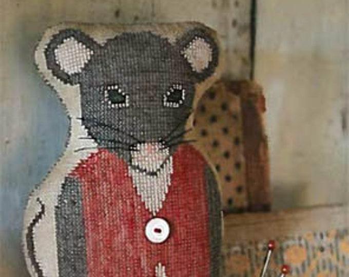 "Pattern: ""Monroe""  - Animal Cracker Series Cross Stitch  by Stacy Nash Primitives"