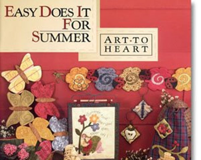 "Pattern Book: ""Easy Does it For Summer"", by Nancy Halvorsen of Art to Heart"