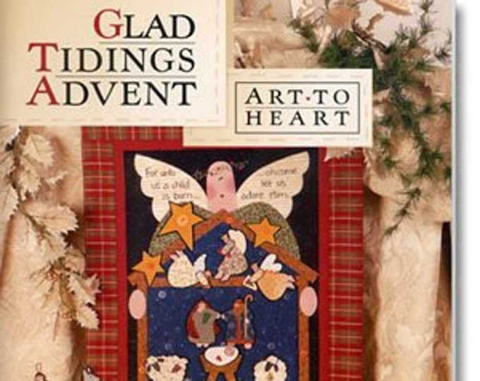 "Pattern Book: ""Glad Tidings Advent"", by Nancy Halvorsen of Art to Heart"