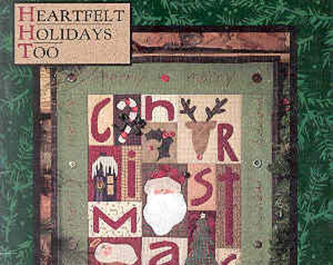 "Pattern Book: ""Heartfelt Holidays Too"", by Nancy Halvorsen of Art to Heart"
