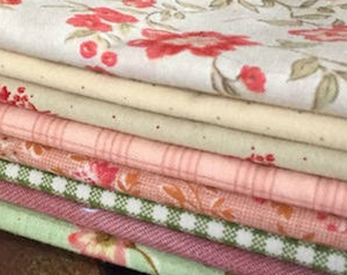 Fabric: Bundle FQ 8pc - Floral Collection