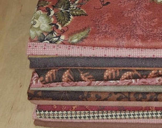 Fabric: Bundle HALF YD 12pc Reproduction Sampler