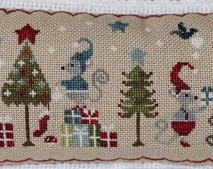 "Pattern: Cross Stitch ""Noël de souris"" by Collection Tralala"