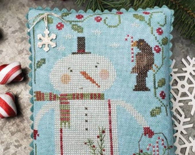 Pattern: Peppermint Pals -  Brenda Gervais - Country Stitches - With Thy Needle and Thread - Brenda Gervais