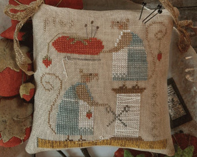 Pattern: Mice in the Sewing Room -  Brenda Gervais - Country Stitches - With Thy Needle and Thread - Brenda Gervais