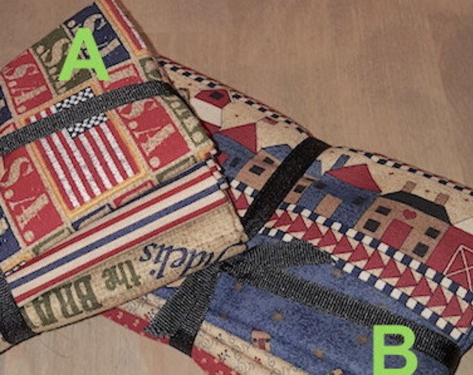 Fabric: Bundle HALF YD 3pc Sampler- Americana Collection