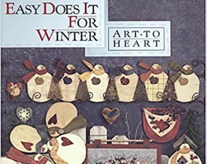 """Pattern Book: """"Easy Does it For Winter"""", by Nancy Halvorsen of Art to Heart"""