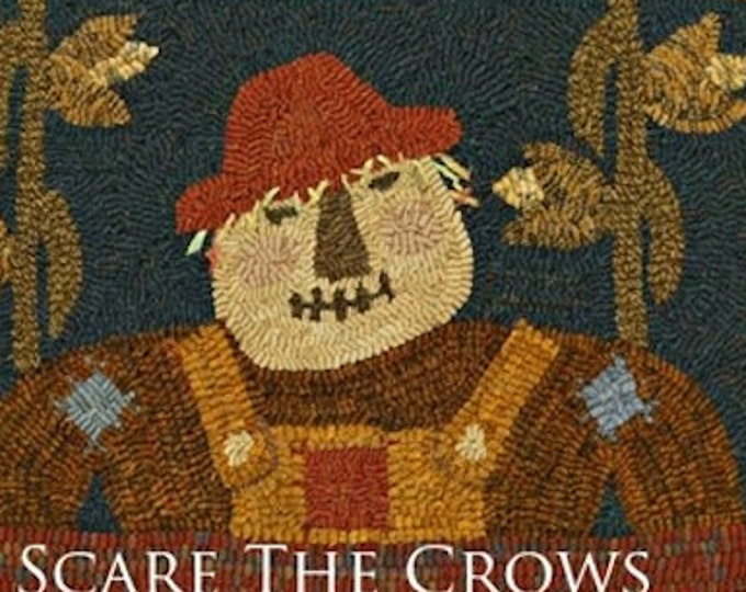 "Pattern: Rug Hooking - ""Scare the Crows"" designed by Becky Menges for Needle Love Designs"