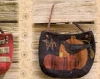 Pattern: Ewe Old Bags Wool Applique Pattern by Primitive Pieces by Lynda