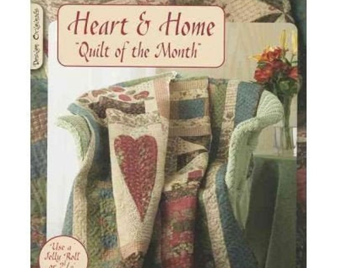 Pattern Book: Heart & Home - Quilt of the Month by Suzanne McNeill
