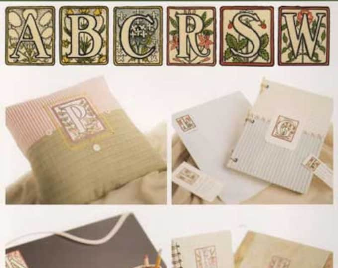 "CD: Click ~n~ Craft ""Antique Alphabet"" from the Vintage Workshop"
