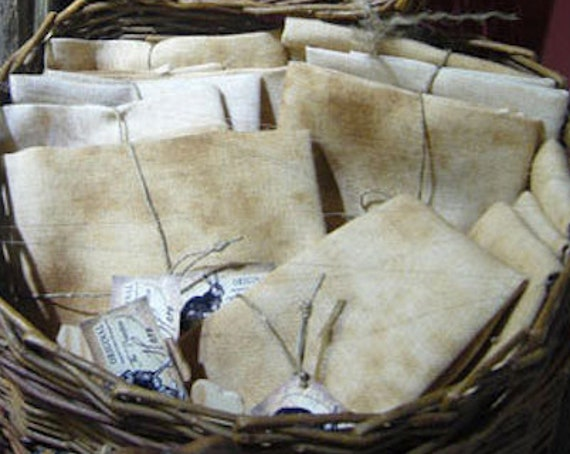 Linen: Large Cut - 30 count Old Salem, Hand Dyed , from the Primitive Hare