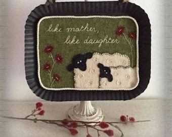 """Pattern: """"Like Mother, Like Daughter"""" Wee Woolies by The Teacher's Pet"""