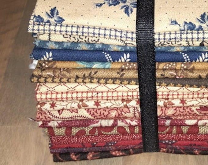 Fabric: Bundle FQ 19pc Sampler - Civil War Collection