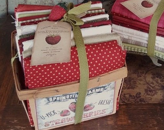 Fabric: Bundle FQ 12pc Collection - Strawberries n Cream