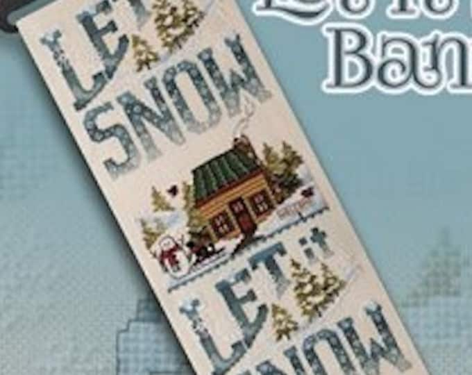 Pattern: Let it Snow Cross Stitch Pattern -  by Stoney Creek