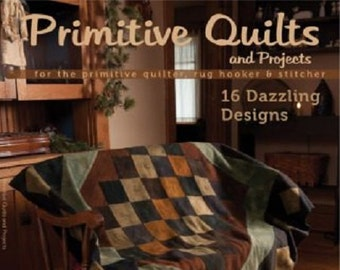 CD Magazine: Winter 2012 Primitive Quilts and Projects Magazine Back Issue on CD