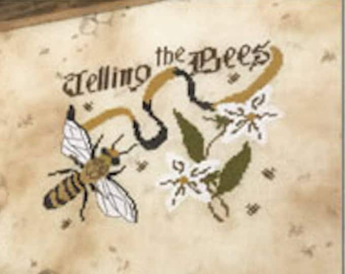 Pattern: Cross Stitch - Telling the Bees  by The Primitive Hare