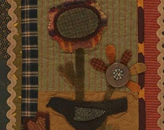 Pattern: Fall Flowers Quilt Pattern by Primitive Pieces by Lynda